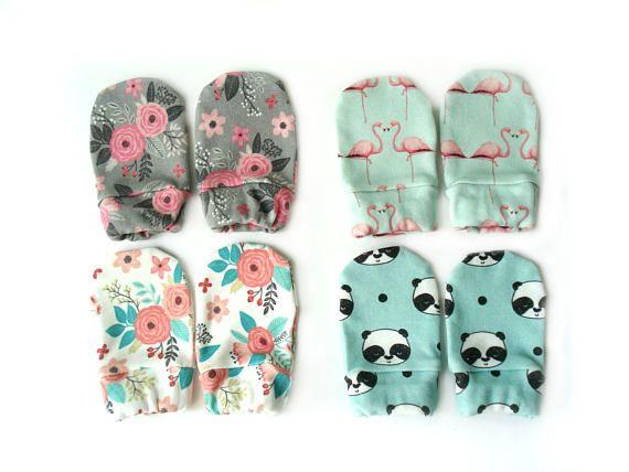 Organic cotton newborn Mittens pair of gloves Baby Mittens organic cotton Baby Mittens baby mitts no scratch mittens baby gloves