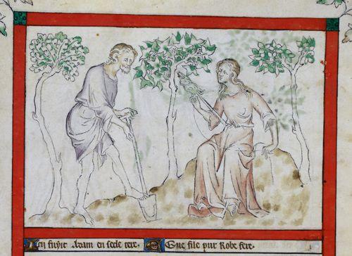 Adam and Eve au travail