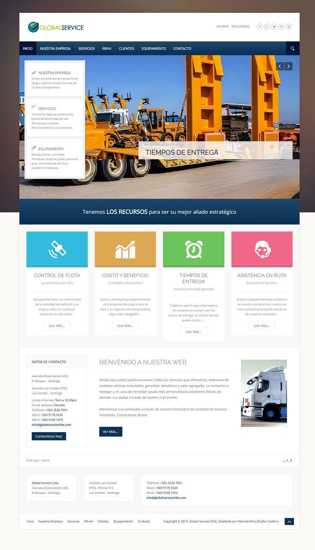 Transportes Global Service www.globalservicechile.cl