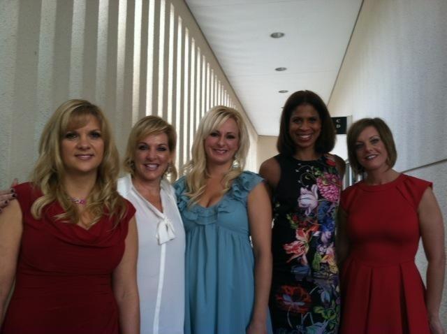 Dance Moms' Melissa Ziegler, Jill Vertes, Christi Lukasiak, Holly Frazier, and Kelly Hyland