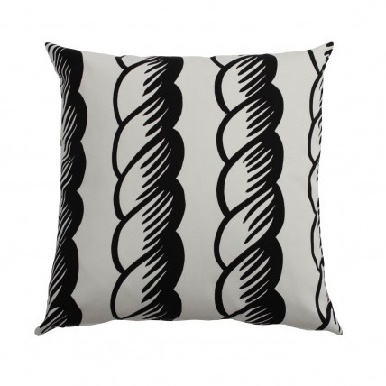 Ten Swedish Designers (10-gruppen) pillow in pattern Rope. Available at www.tiogruppen.com.