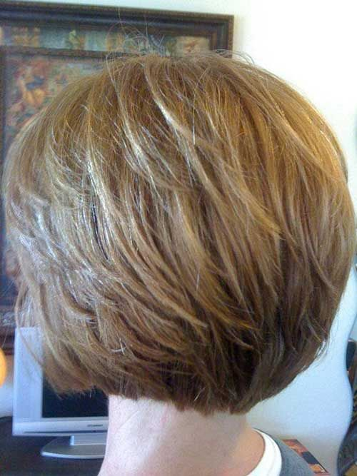9.Short Stacked Bob
