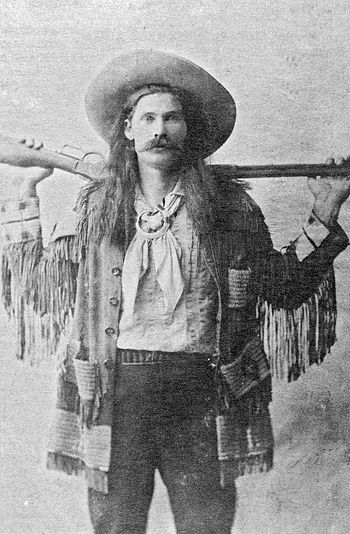 """Arizona Charlie Meadows, often called """"King of the Cowboys"""", travelled around the world as part of one Wild West show after anot..."""
