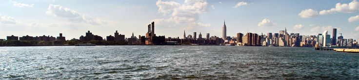 View on Manhattan's skyline from the East River State Park! It's even better by night!