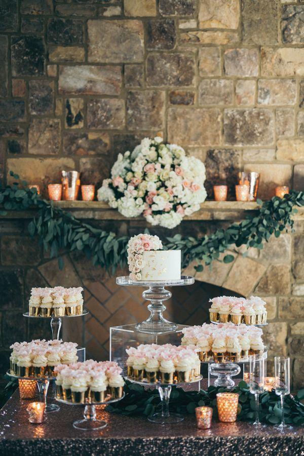 Georgia Wedding By Harwell Photography And Chancey Charm Southern Weddings Wedding Food Display Wedding Cupcake Table Wedding Dessert Table