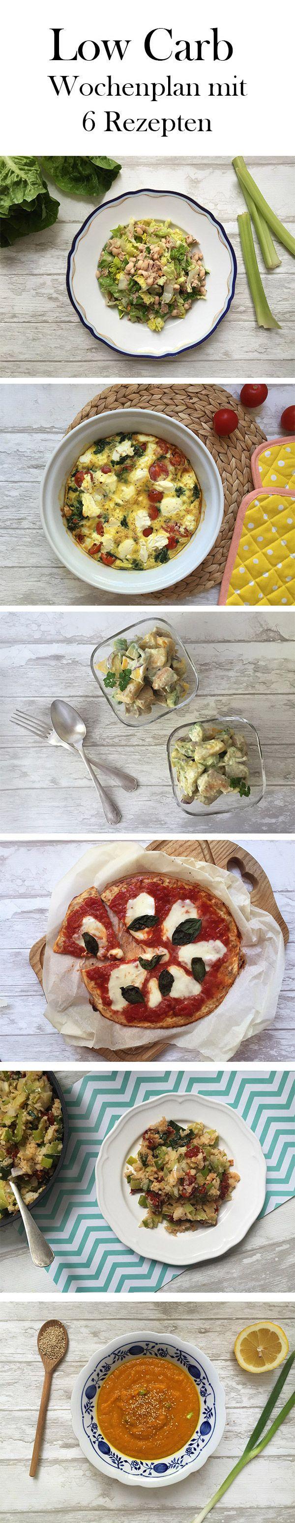 Mit diesem Low Carb Plan merkst du nicht einmal, dass du dich Low Carb ernährst, bis es zu spät ist! Sechs leckere Gerichte machen es dir ganz leicht auf deine Linie zu achten, fit zu bleiben und gleichzeitig abwechslungsreich durch den Alltag zu kommen.