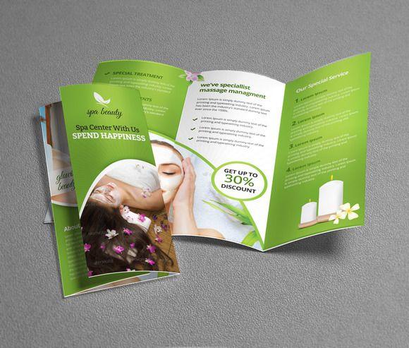Best Spa Brochures Inspiration Images On   Brochures