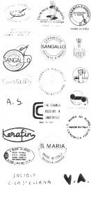 марки и клейма итальянская керамика CIVITA CASTELLANA 44
