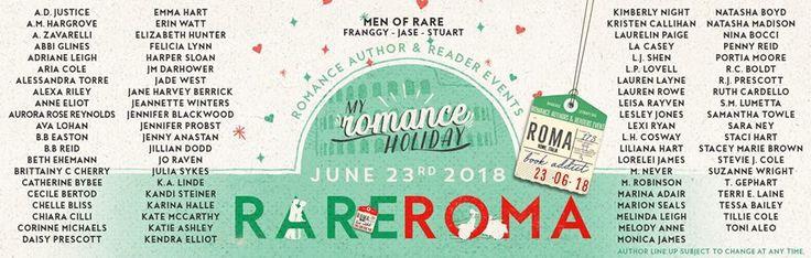 """Leggere Romanticamente e Fantasy: #Rare18Rome - Nel 2018 la """"Romance Author & Reader..."""