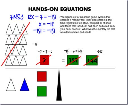 Hands on equations worksheets grade 5