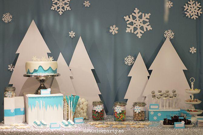 Nice Party fiesta Frozen Mesa de dulces