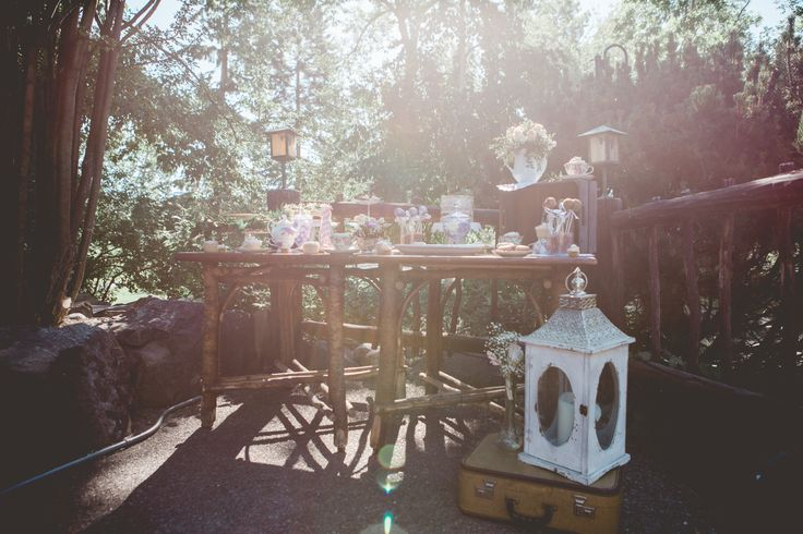 styled tea party editorial photoshoot
