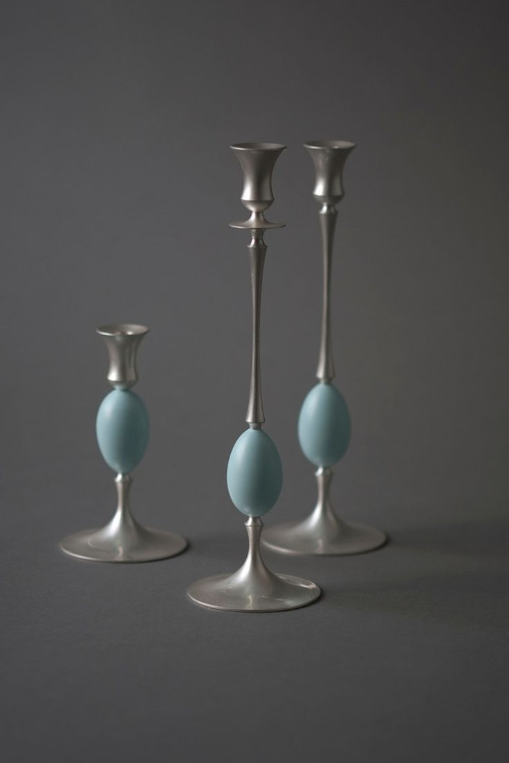 Biedermeier Candlesticks - Transitional Candles & Candleholders - Dering Hall