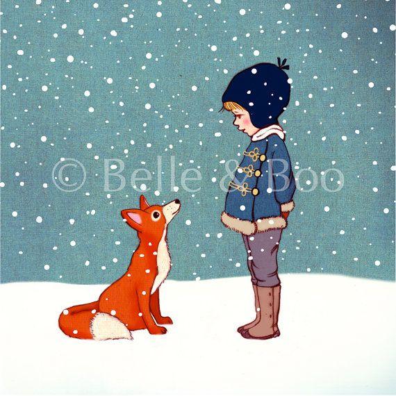 Hallo Mr. Fox von belleandboo auf Etsy