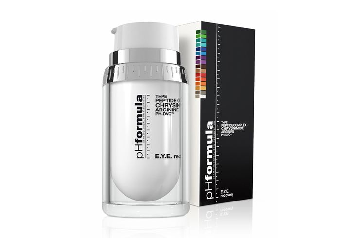 E.Y.E. recovery #pHformula #antiaging  The pHformula E.Y.E. recovery is a powerful but gentle formulation containing a unique peptide complex, which assists in reducing the appearance of fine lines and wrinkles as well as dark circles and puffiness. Also ideal for use under the brow bone for an immediate lifting and tightening effect.