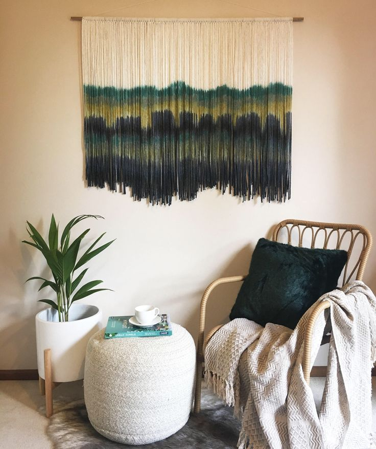 A personal favourite from my Etsy shop https://www.etsy.com/au/listing/534624927/cacto-tapestry-wall-art-fiber-fibre-art