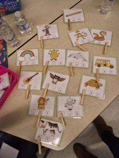 La maternelle de Francesca: Nos petits ateliers #6