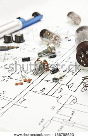 Electronic schematic tube amp