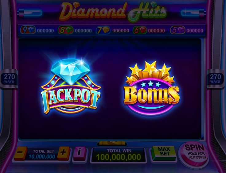 Classic Slot Machine on Behance