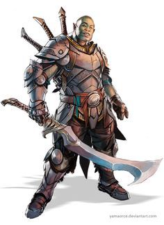 Orcs and Half Orcs on Pinterest | deviantART, Rpg and Art