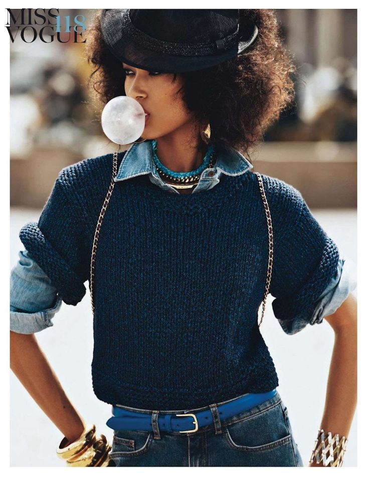 Anais Mali for Vogue Paris - Check out the amazing spread on stylepantry.com