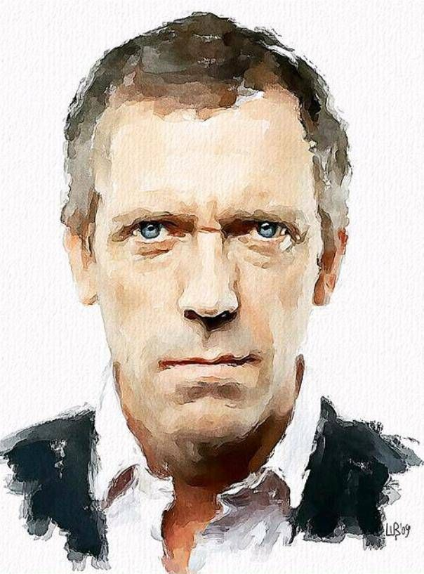 Watercolor portrait by Vitaly Shchukin, digital water colour - I know it is still art but part of me is still whispering - cheating?