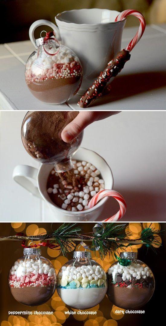 12 super einfache hausgemachte Weihnachtsgeschenkideen – #creative #Einfache #ha…