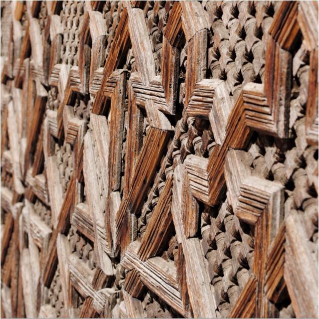 Moroccan woodwork