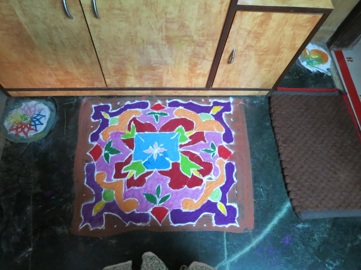 rangoli on 3rd day