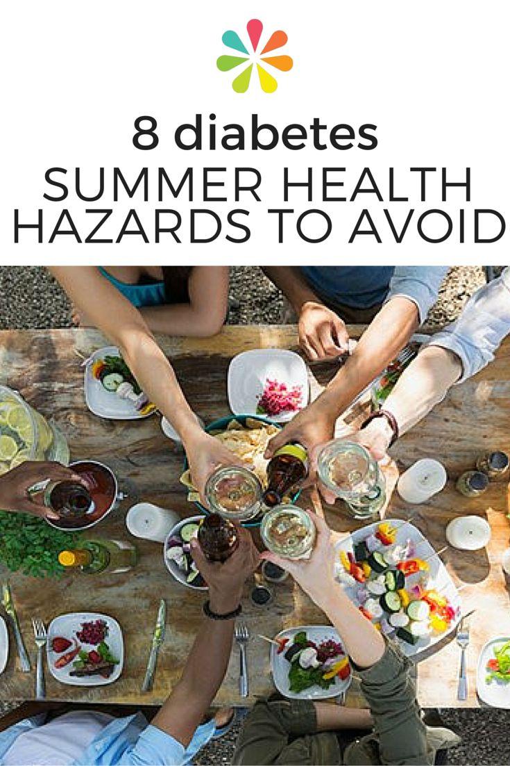 8 Diabetes Summer Health Hazards to Avoid