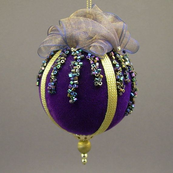 Christmas Ornaments Glass Balls Handmade : Towers turrets quot icicles cobalt blue velvet christmas