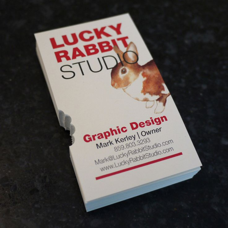 Lucky Rabbit Studio Business Cards