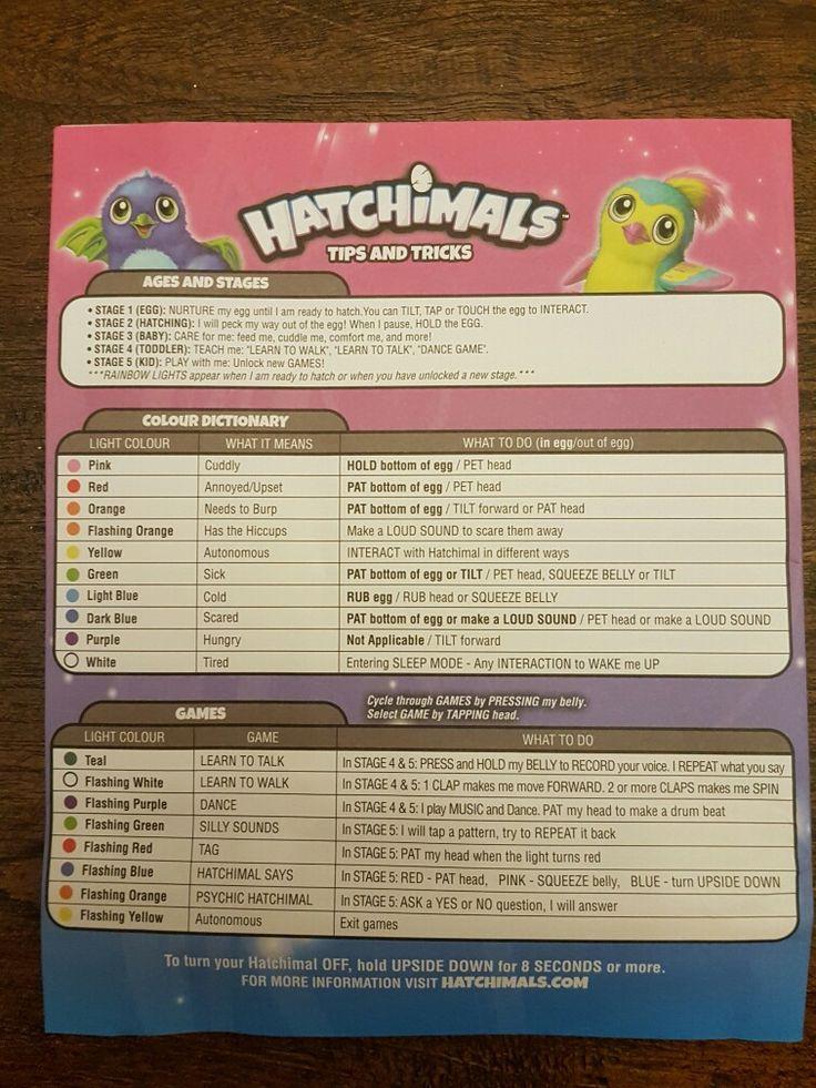 Hatchimals tips&trucs | WLW - Hatchimals