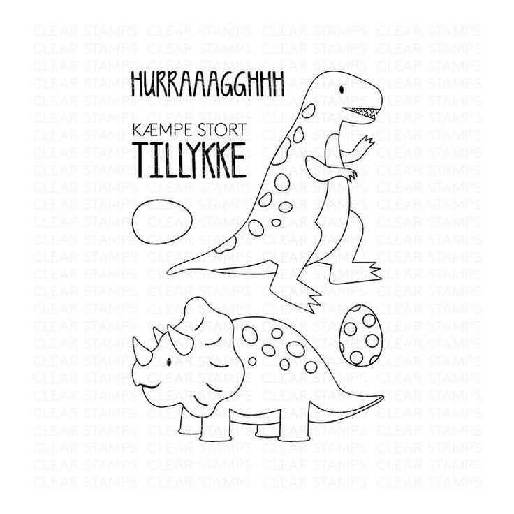Hurraaagghhh - Three scoops stempel