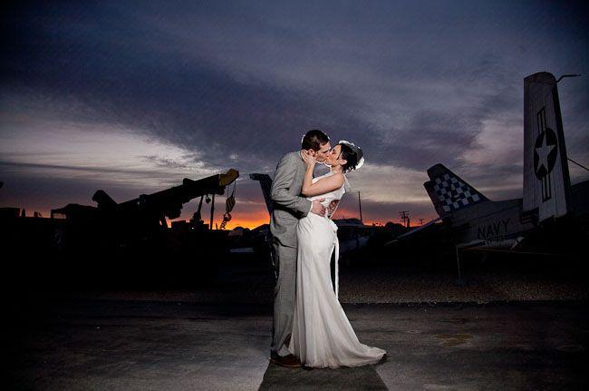 Airplane weddings always get me