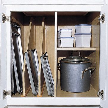 Kitchen Cabinet Accessories - traditional - cabinet and drawer organizers - Heartwood Kitchen and Bath Cabinetry