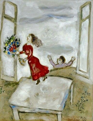chagall essay marc Chagall's poetic, figurative style and iconic imagery made him one of most  popular modern artists.