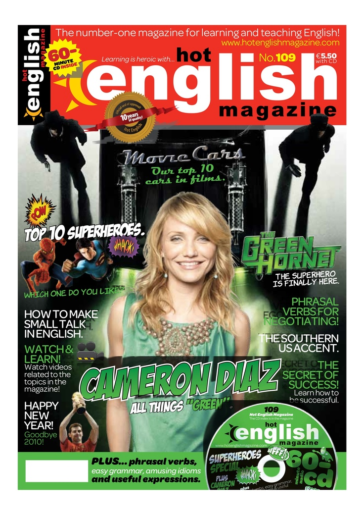 #109. #LearnHotEnglish #ESL #EFL  More at www.hotenglishmagazine.com