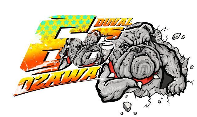 Stiker Bulldog Racing by duval ozawa