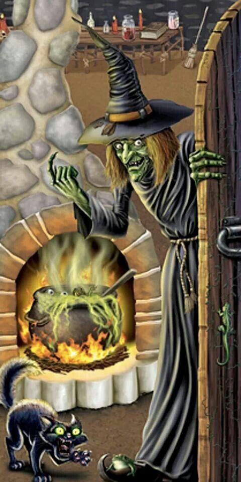 witch halloween kitchen decorparties decorationshalloween