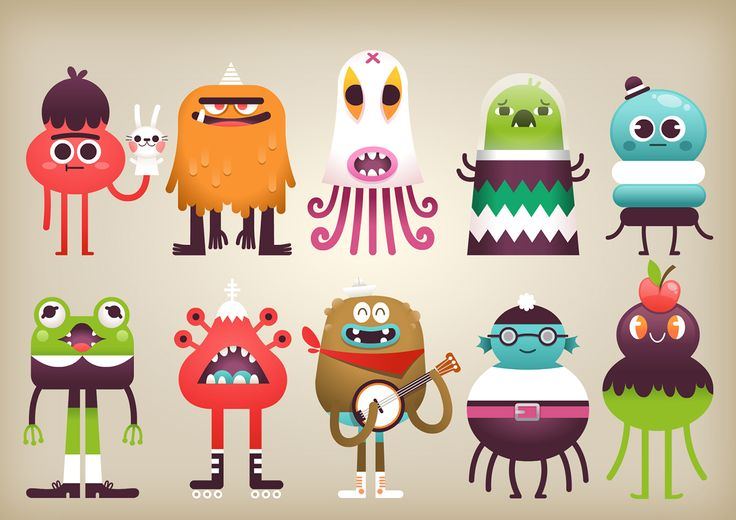 Clever Monster is a fictional world of funny charactersrs for, tablets and mobiles apps, Online cartoon serie, and ebooks for childrens.