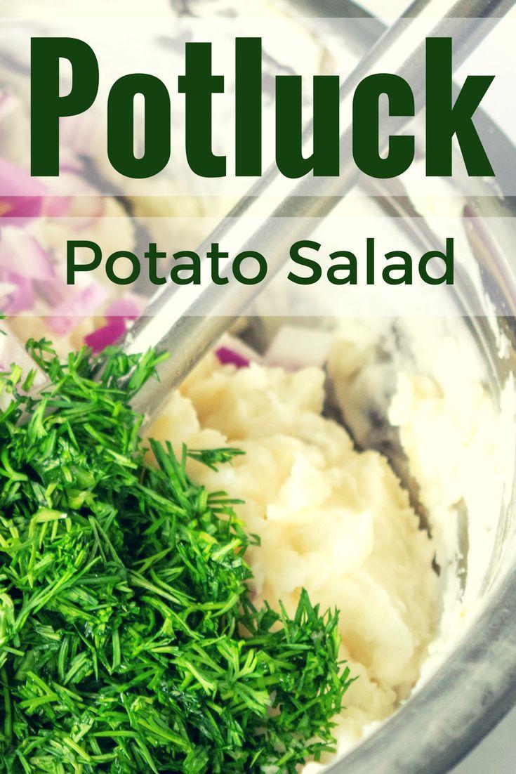 My go-to potato salad recipe!