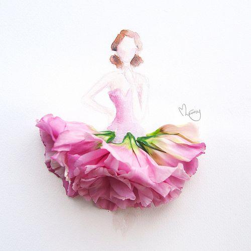 eustoma dress by lovelimzy, via Flickr