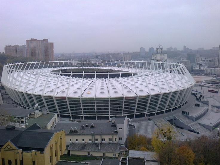 Olimpiyskiy National Sports Complex Location Kyiv