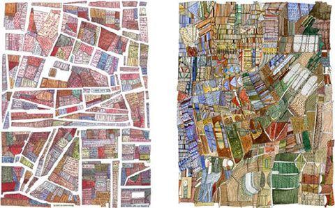 Nigel Peake, maps #illustration