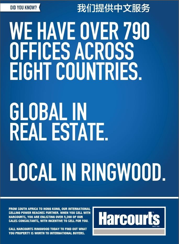 Global in Real Estate Local in Ringwood