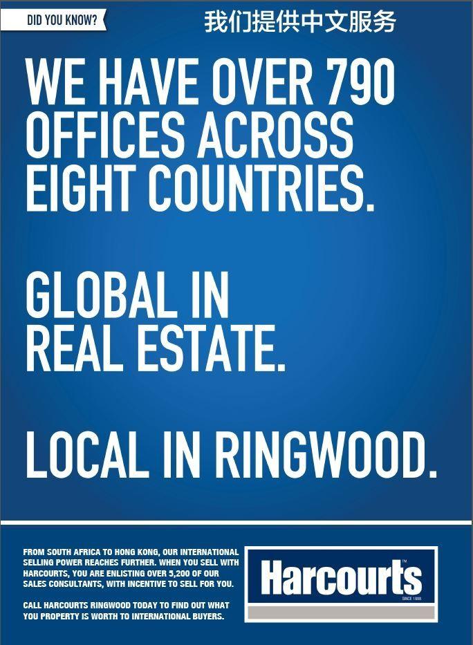 Global in Real Estate Local in Ringwood