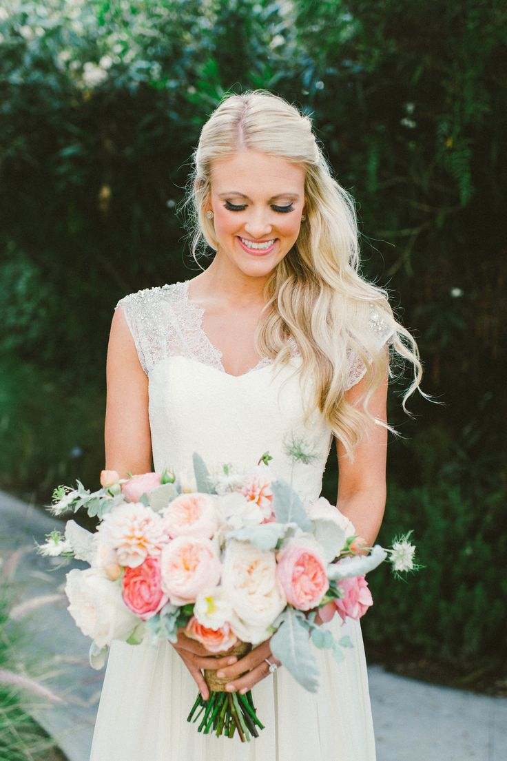 A beautiful rustic bouquet. Photo by Emily Blake Photography