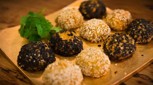 Japanese Quinoa and Millet Balls   Janella Purcell