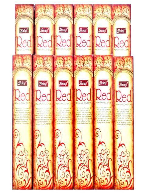 Balaji Red Incense Sticks